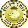 Yellow, circular, County Seal